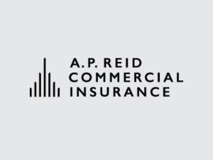 A. P. Reid Commercial Black Logo