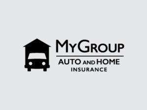 MyGroup Auto and Home Insurance Black Logo