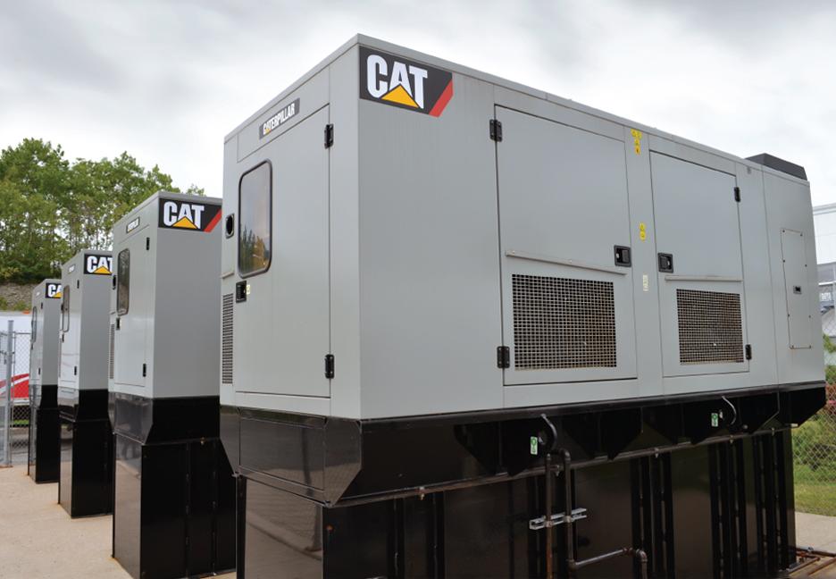 Generators at Dartmouth Location