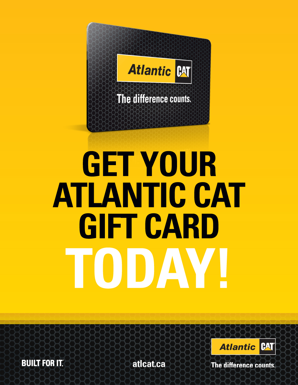 Gift Card Poster Graphic