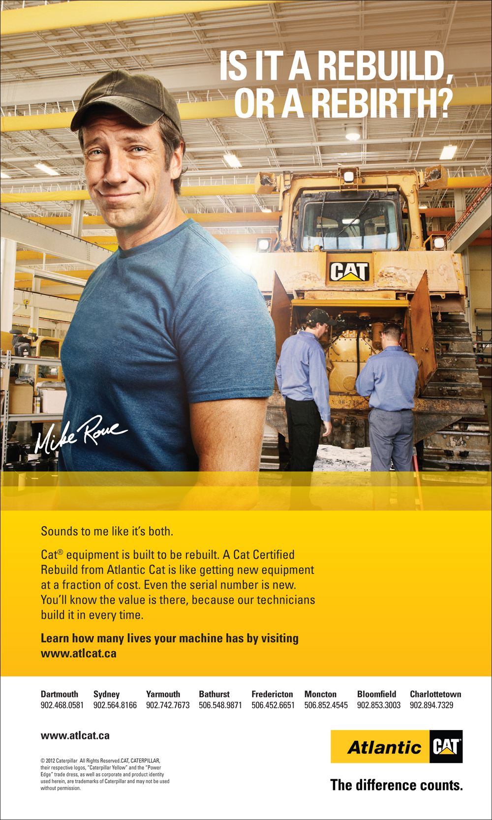 Mike Rowe Ad