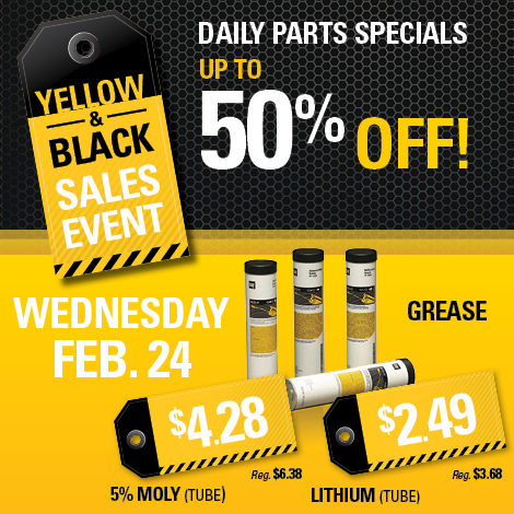Black and Yellow Sales Event Facebook