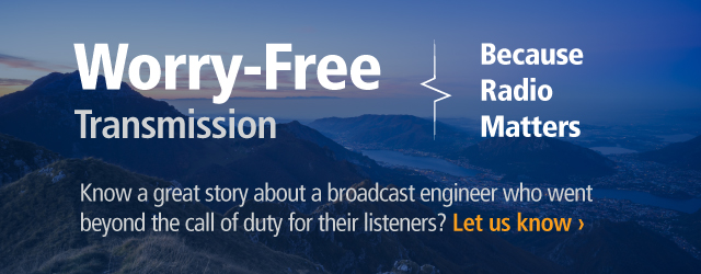 Worry-Free transmission banner