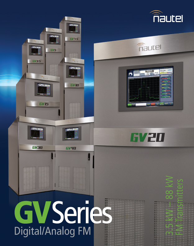 Update of GV Series Brochure