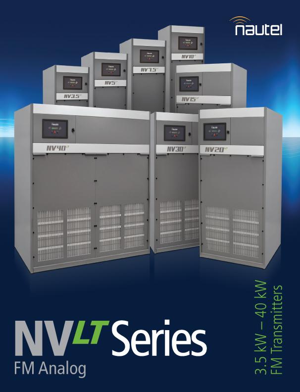 Updated NVLT Series Brochure